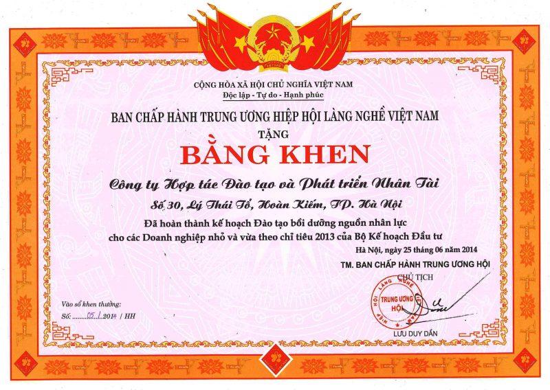 bang-khen-hoi-lang-nghe-viet-nam