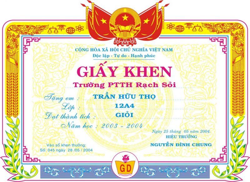 giay-khen-hoc-sinh-pho-thong